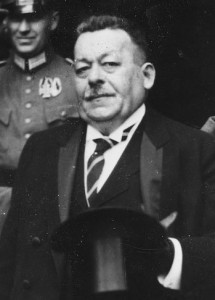 Reichspräsident Friedrich Ebert (SPD)