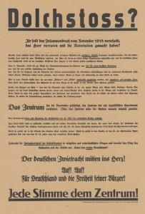 Zentrum, Reichstagswahl 1932 /1933, Zentrum, Reichstagswahl 1930, Konrad-Adenauer-Stiftung, KAS/ACDP 10-043 : 14 CC-BY-SA 3.0 DE