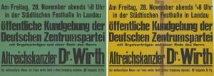 Zentrum, Reichstagswahl 1924 (Dezember), Konrad-Adenauer-Stiftung, KAS/ACDP 10-043 : 5 CC-BY-SA 3.0 DE