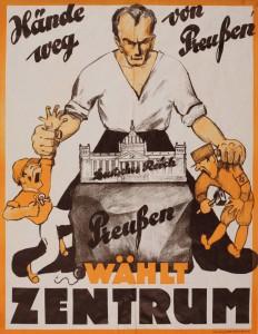 Zentrum, Landtagswahl Preußen 1932, Konrad-Adenauer-Stiftung, KAS/ACDP 10-043 : 18 CC-BY-SA 3.0 DE