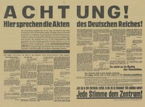 Zentrum, Reichstagwahl 1933?, Konrad-Adenauer-Stiftung, KAS/ACDP 10-043 : 17 CC-BY-SA 3.0 DE