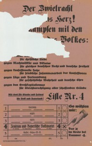 Zentrum / BVP, Reichstagswahl 1933, Konrad-Adenauer-Stiftung, KAS/ACDP 10-043:27 CC-BY-SA 3.0 DE