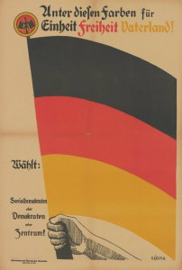 Zentrum / SPD / DDP, Reichstagswahl 1924, Konrad-Adenauer-Stiftung, KAS/ACDP 10-043 : 8 CC-BY-SA 3.0 DE