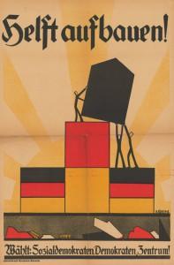 Zentrum / SPD / DDP, Reichstagswahl 1924, Konrad-Adenauer-Stiftung, KAS/ACDP 10-043 : 20 CC-BY-SA 3.0 DE