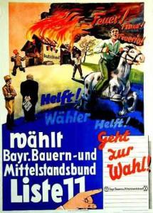 Bayerischer Bauernbund, Landtagswahl Bayern 1932