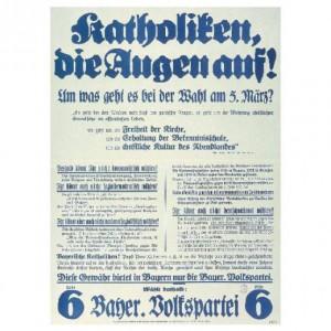 Bayrische Volkspartei, Reichstagswahl 1933