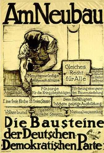 unterricht weimerer verfassung 1919