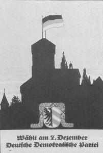 DDP, Reichstagswahl 1924