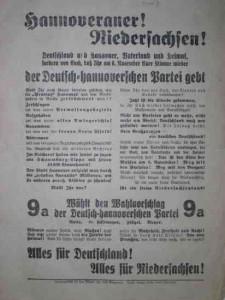 Deutsch-hannoversche Partei, Reichstagswahl 1932, Preußen