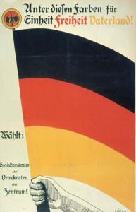 SPD, DDP, Zentrumspartei, unbekanntes Jahr