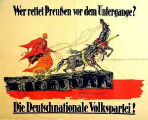 DNVP, Wahl zur verfassunggebenden Nationalversammlung 1919