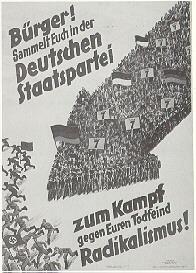 Deutsche Staatspartei, Reichstagswahl 1932