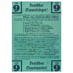 Deutsche Staatspartei, Reichstagswahl 1933