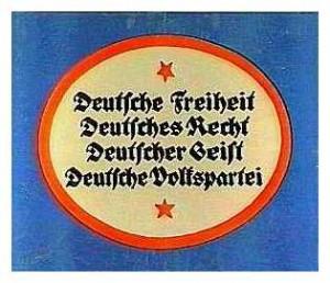 Deutsche Volkspartei, Reichstagswahl 1920