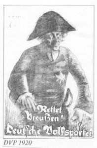 Deutsche Volkspartei, Reichstagswahl 1920, Preußen