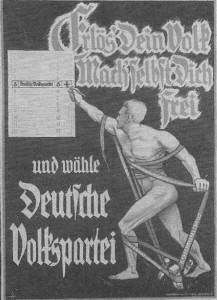 Deutsche Volkspartei, Reichstagswahl 1930