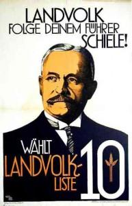 Landvolk, Reichstagswahl 1930