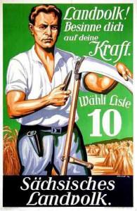 Landvolk, Reichstagswahl 1930, Sachsen