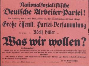 NSDAP, Parteiversammlung 1920
