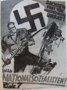 NSDAP, Reichstagswahl 1928, Sachsen