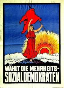 SPD, Wahl zur verfassunggebenden Nationalversammlung 1919