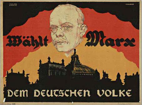 Zentrumspartei, Reichspräsidentenwahl 1925
