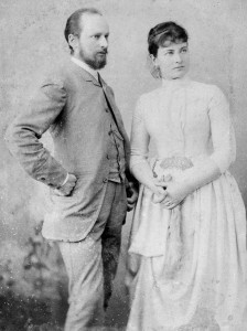 Ludwig Quidde mit Ehefrau Margerete, 1888