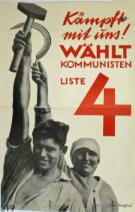 KPD, Reichstagswahl 1930. Quelle: Stiftung Schloß Friedenstein Gotha: Museum für Regionalgeschichte und Volkskunde [CC BY-NC-SA]