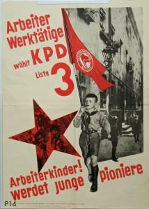 KPD, Reichstagswahl 1932. Quelle: Stiftung Schloß Friedenstein Gotha: Museum für Regionalgeschichte und Volkskunde [CC BY-NC-SA]