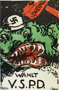 USPD, Reichstagswahlen 1924. Quelle: Stiftung Schloß Friedenstein Gotha: Museum für Regionalgeschichte und Volkskunde [CC BY-NC-SA]